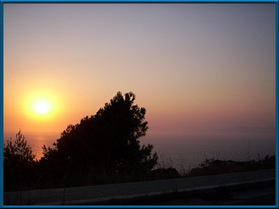 Sunset Rhodos